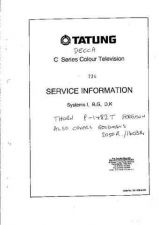 Buy THORN P1482T TATUNG C, D ETC SERIES SERVICE by download #109762