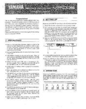 Buy Yamaha MFC05 EN Operating Guide by download Mauritron #248696