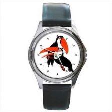 Buy Toucan Birds Parrots Unisex Round Wrist Watch New