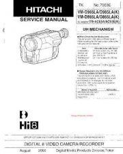Buy Hitachi VMD965LA Manual by download Mauritron #225662