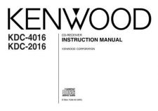Buy Kenwood KDC-2018 Operating Guide by download Mauritron #221491