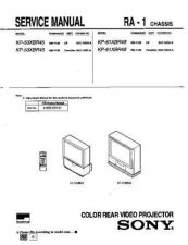 Buy Sony KP-61XBR200[2] Service Manual. by download Mauritron #242159
