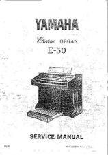 Buy Yamaha E50 SM E Information Manual by download Mauritron #259574