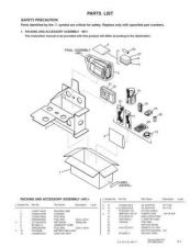 Buy JVC GR-SXM290AA par Service Manual Schematic Circuit. by download Mauritron #270827
