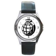 Buy Hand Grenade War Symbol Unisex Wrist Watch