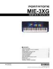 Buy JVC MIE 2XG CB E Service Manual by download Mauritron #251986