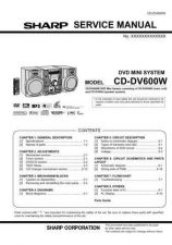 Buy Sharp CDDV600W (1) Service Manual by download Mauritron #208588