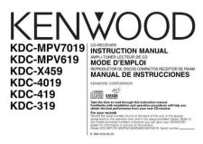 Buy Kenwood KDC-X469 Operating Guide by download Mauritron #222362