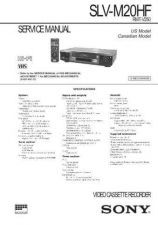 Buy SONY SLVE800VC VIDEO SERVICE MANUAL Technical Info by download #105173
