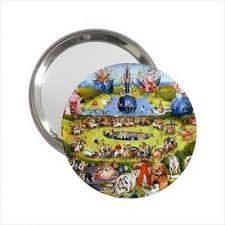 Buy Garden Of Earthly Delights Bosch Art Handbag Purse Mini Mirror