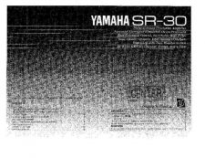 Buy Yamaha SR-30 Operating Guide by download Mauritron #249963