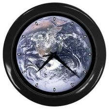 Buy Planet Earth From Outer Space Wall Clock