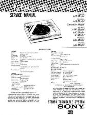 Buy Sony PS-LX430-430C-431-433 Service Information by download Mauritron #237994