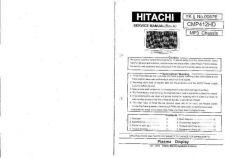 Buy Hitachi CMP412HD Manual by download Mauritron #224494