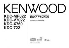 Buy Kenwood KDC-X769 by download Mauritron #219122