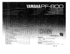 Buy Yamaha PF1000E1 Operating Guide by download Mauritron #249136