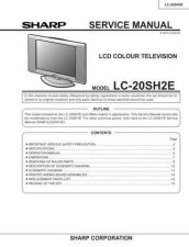 Buy Sharp LC20SH4U Service Manual by download Mauritron #209928