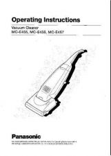 Buy Panasonic MCE456 Operating Instruction Book by download Mauritron #236129