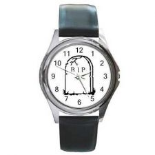 Buy Tombstone Gravestone RIP Death Art Unisex Wrist Watch