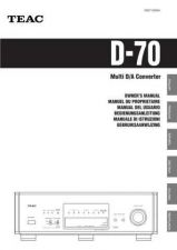 Buy Teac D70(6L) Service Manual by download Mauritron #223650
