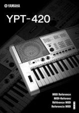 Buy Yamaha YPT420 EN DE FR ES MR V10A Operating Guide by download Mauritron #205665