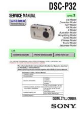 Buy Sony DSC-P51P51M... Service Manual by download Mauritron #240253