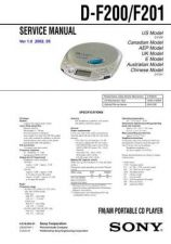 Buy Sony DCR-DVD200DVD200EDVD300 Service Manual by download Mauritron #239520