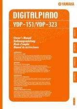 Buy Yamaha YDP151 EN1 Operating Guide by download Mauritron #250305