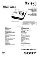 Buy SONY MZ-R37 Technical by download #105072
