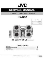 Buy JVC HX-GD7 Service Manual Schematic Circuit. by download Mauritron #271094
