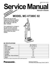 Buy Panasonic sup-7399c 01 Service Manual by download Mauritron #268929