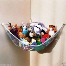 Buy Kids room Toy Hammock, jumbo, storage, organize, children, net