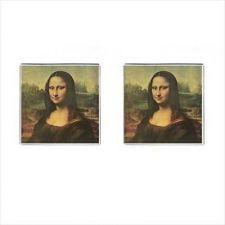 Buy Mona Lisa Leonardo da Vinci Art Cuff Links Cufflinks