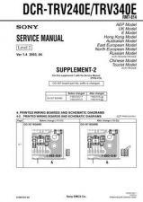 Buy Sony DCR-TRV738ETRV740 TRV740ETRV840... (5) Service Manual by download Mauritro
