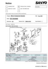 Buy Fisher DC-DA2000-01 Service Manual by download Mauritron #215316
