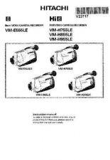 Buy Hitachi VM-H855 Service Manual by download Mauritron #265152