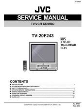 Buy JVC TV-20F243 Service Manual Schematic Circuit. by download Mauritron #272694