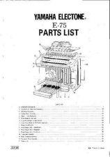 Buy JVC E75 PL1 E Service Manual by download Mauritron #250703