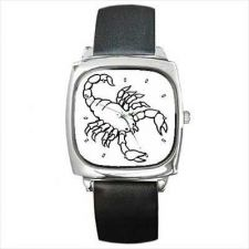 Buy Scorpion Insect Black and White New Art Wrist Watch
