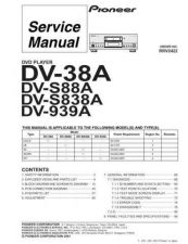 Buy Pioneer DVD PLAYER Service Manual by download Mauritron #234455