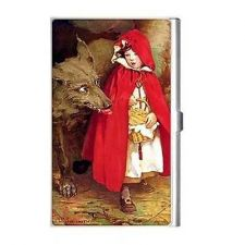 Buy Little Red Riding Hood Big Bad Wolf Art Business Credit Card Case