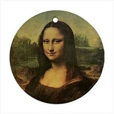 Buy Mona Lisa Leonardo Da Vinci Art Ceramic Ornament