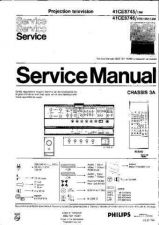 Buy PHILIPS 41CE8746 SERVICE Manual by download Mauritron #230327
