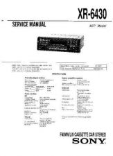 Buy Sony XR-5W497RB Service Manual. by download Mauritron #246128