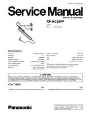 Buy Panasonic rq_sw5_2 Service Manual by download Mauritron #268495