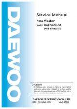 Buy Daewoo DWF-760761762810811812 Manual by download Mauritron #226006