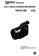 Buy Hitachi VME110E EN Manual by download Mauritron #225664