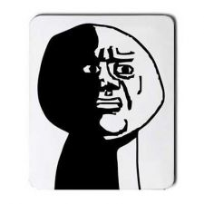 Buy Oh God Why Guy Rage Comic Computer Mouse Pad