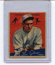 Buy 1934 GOUDEY CHARLEY GEHRINGER #23 DETROIT TIGERS HALL OF FAMER SEE PIC