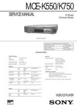 Buy Sony MC-P10 Service Manual. by download Mauritron #242422